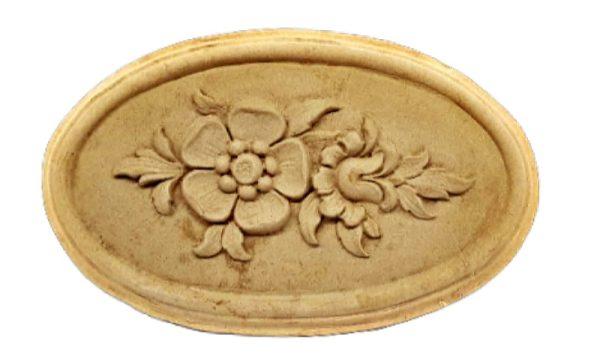 Ξυλόγλυπτο Λουλούδι 1732 14.5cm x 9cm