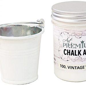 Χρώμα Κιμωλίας Art Premium Chalk Art - 100 Vintage White - 110ml
