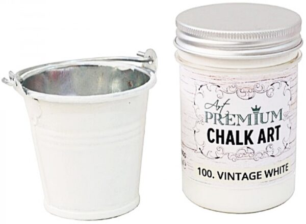 Χρώμα Κιμωλίας Art Premium Chalk Art - 100 Vintage White - 110ml