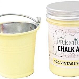 Χρώμα Κιμωλίας Art Premium Chalk Art - 102 Vintage Yellow - 110ml
