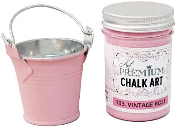 Χρώμα Κιμωλίας Art Premium Chalk Art - 103 Vintage Rose - 110ml