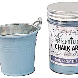 Χρώμα Κιμωλίας Art Premium Chalk Art - 108 Grey Blue - 110ml