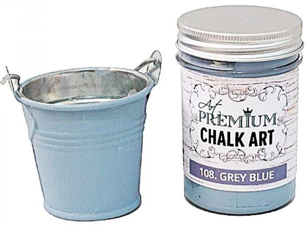 Χρώμα Κιμωλίας Art Premium Chalk Art - 108 Grey Blue - 110ml