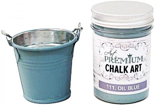 Χρώμα Κιμωλίας Art Premium Chalk Art - 111 Oil Blue - 110ml