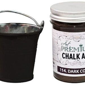 Χρώμα Κιμωλίας Art Premium Chalk Art - 114 Dark Coffee - 110ml