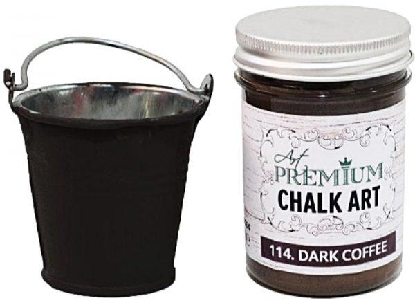 Χρώμα Κιμωλίας Art Premium Chalk Art - 114 Dark Coffee - 110ml