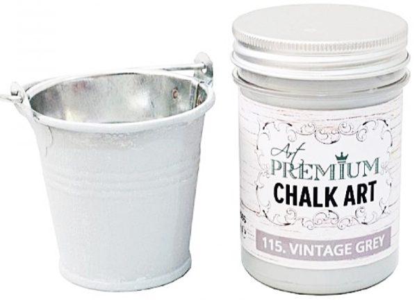 Χρώμα Κιμωλίας Art Premium Chalk Art - 115 Vintage Grey - 110ml