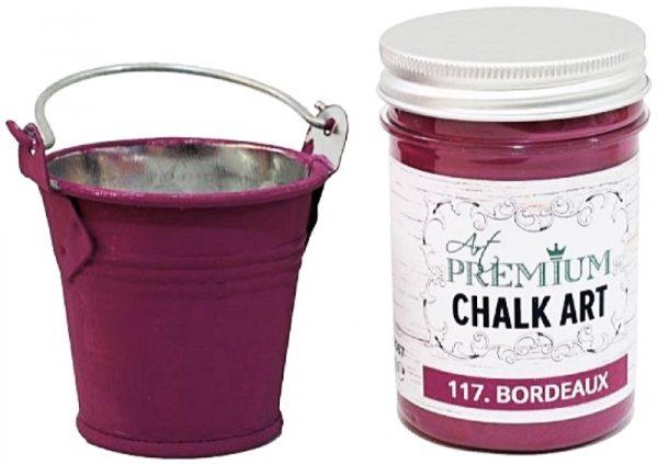 Χρώμα Κιμωλίας Art Premium Chalk Art - 117 Bordeaux - 110m