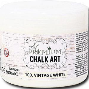 Χρώμα Κιμωλίας Art Premium Chalk Art - 100 Vintage White - 500ml