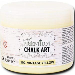 Χρώμα Κιμωλίας Art Premium Chalk Art - 102 Vintage Yellow - 500ml