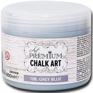 Χρώμα Κιμωλίας Art Premium Chalk Art - 108 Grey Blue - 500ml