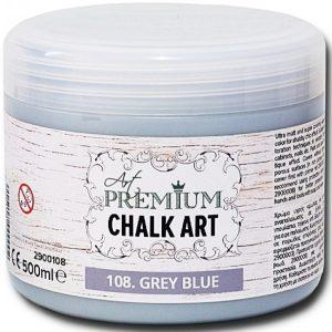 Χρώμα Κιμωλίας Art Premium Chalk Art - 108 Grey Blue - 500ml