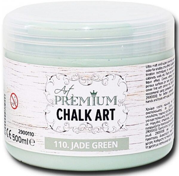 Χρώμα Κιμωλίας Art Premium Chalk Art - 110 Jade Green - 500ml