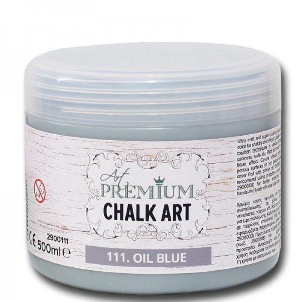 Χρώμα Κιμωλίας Art Premium Chalk Art - 111 Oil Blue - 500ml