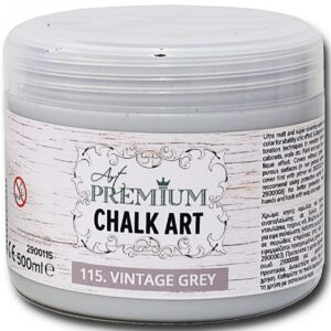 Χρώμα Κιμωλίας Art Premium Chalk Art - 115 Vintage Grey - 500ml