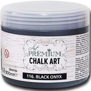Χρώμα Κιμωλίας Art Premium Chalk Art - 116 Black Onyx - 500ml
