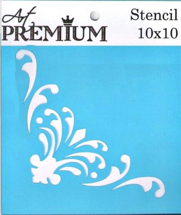 Στένσιλ Art Premium 2900611 - 10x10cm - Διακοσμητική Γωνία