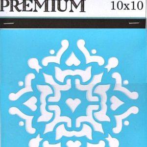 Στένσιλ Art Premium 2900612 - 10x10cm - Διακοσμητικό Κέντρου