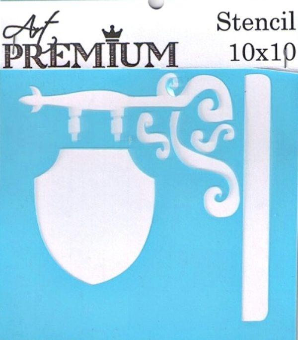 Στένσιλ Art Premium 2900613 - 10x10cm - Ταμπέλα