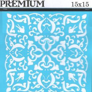 Στένσιλ Art Premium 2900614 - 15x15cm - Διακοσμητικό Κέντρου