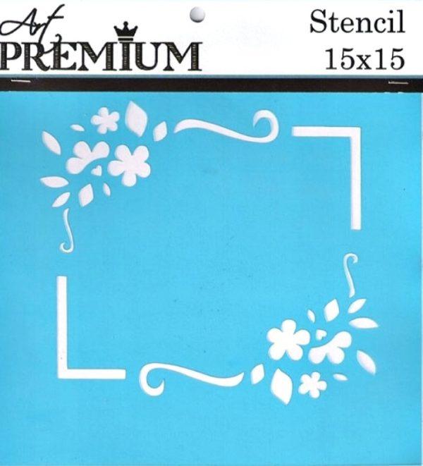 Στένσιλ Art Premium 2900615 - 15x15cm - Κορνίζα