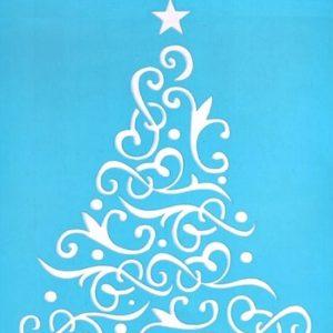 Στένσιλ Art Premium 2900618 - 15x20cm - Χριστουγεννιάτικο Δέντρο