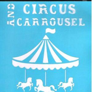 Στένσιλ Art Premium 2900624 - 15x20cm - Τσίρκο