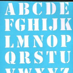 Στένσιλ Art Premium 2900625 - 15x20cm - Γράμματα