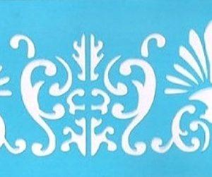 Στένσιλ Art Premium 2900627 - 24x8cm - Διακοσμητική Μπορντούρα