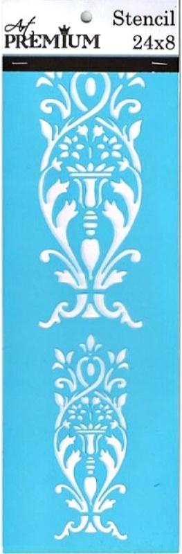 Στένσιλ Art Premium 2900628 - 24x8cm - Διακοσμητική Μπορντούρα