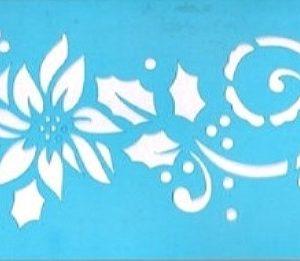 Στένσιλ Art Premium 2900631 - 24x8cm - Διακοσμητική Μπορντούρα