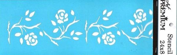 Στένσιλ Art Premium  2900632 - 24x8cm - Διακοσμητική Μπορντούρα