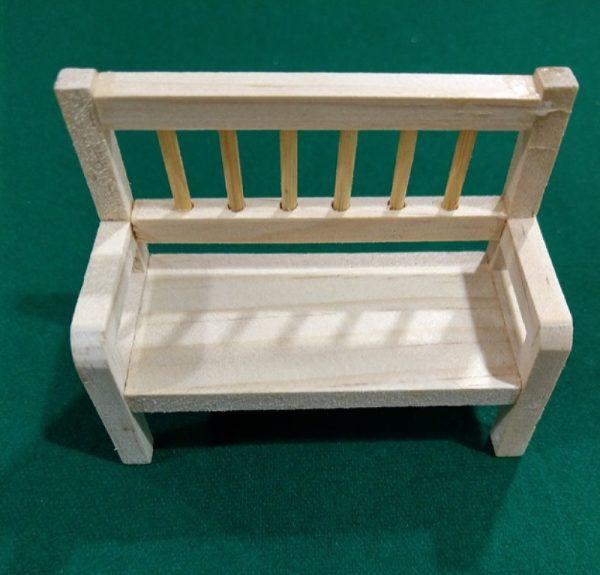 Ξύλινο Διακοσμητικό Παγκάκι  3270159