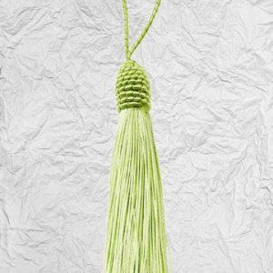 Ανοιχτό Πράσινο Διακοσμητική Φούντα 3425260 8cm