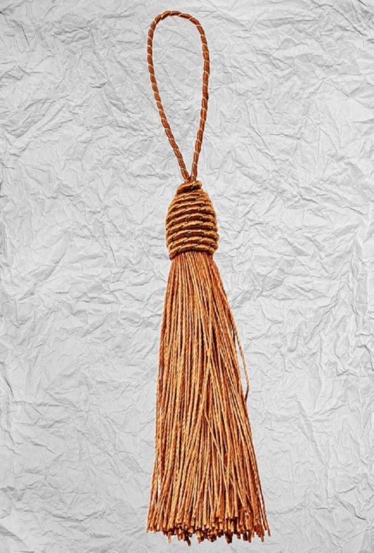 Καφέ Σκούρο Διακοσμητική Φούντα 3425263 8cm