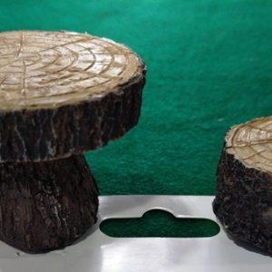 Ξύλινα Διακοσμητικά Τραπέζι-Καρέκλα 3870511