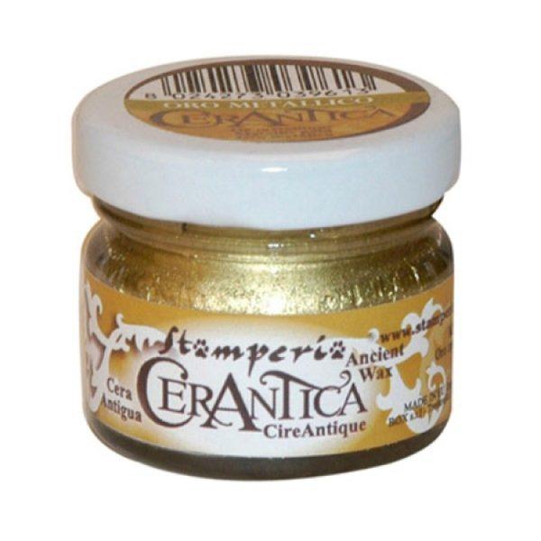 Stamperia Πατίνα Cerantica 5000750 - Gold Metallic - 20ml