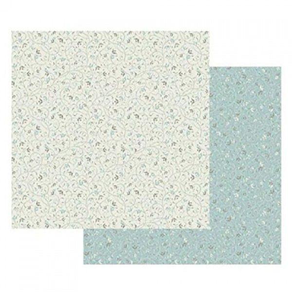 Χαρτί Scrapbooking 5001526 Stamperia Διπλής Όψης - Wallpaper on Ivory - 31x30cm
