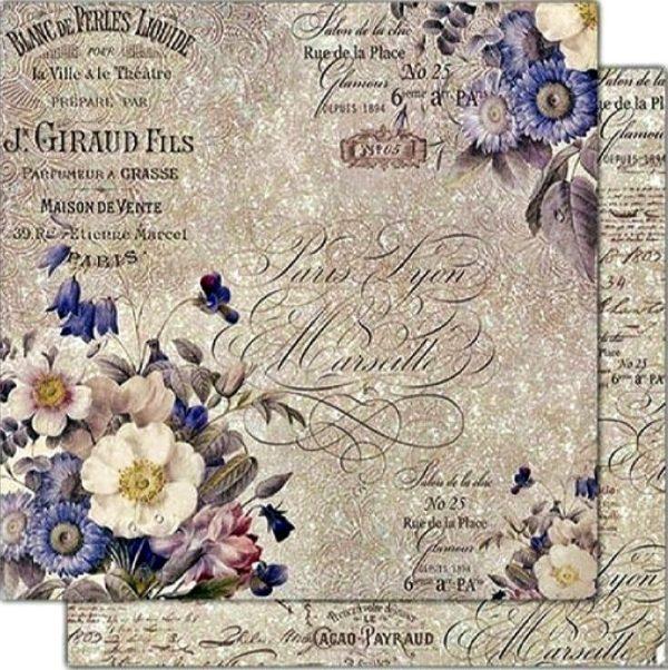 Χαρτί Scrapbooking 5001527 Stamperia Διπλής Όψης  - New England - 31x30cm