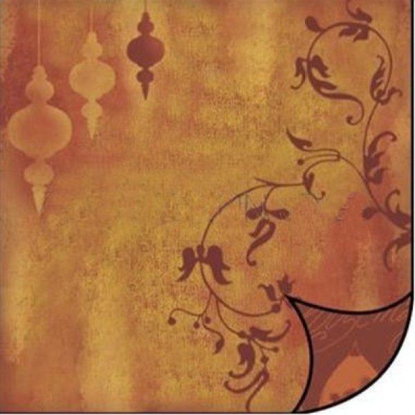 Χαρτί Scrapbooking 5001765 Stamperia Διπλής Όψης - Vintage - 31x30cm