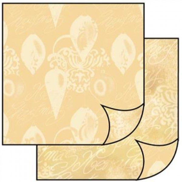 Χαρτί Scrapbooking 5001766 Stamperia Διπλής Όψης - Beige Balls - 31x30cm