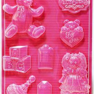 Εύκαμπτο Καλούπι για Σαπούνι Γύψο 5001916 - 21x29.7cm - Παιχνίδια