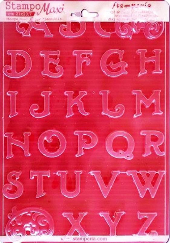 Εύκαμπτο Καλούπι για Σαπούνι-Γύψο 5002025 - 21x29.7cm - Αλφάβητο