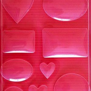 Εύκαμπτο Καλούπι για Σαπούνι-Γύψο 5002042 - 21x29.7cm - Διάφορα Σχήματα