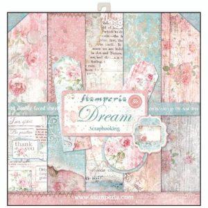 Σετ 10 Χαρτιά 5002050 Scrapbooking Stamperia Διπλής Όψης  - Dream - 30x30cm