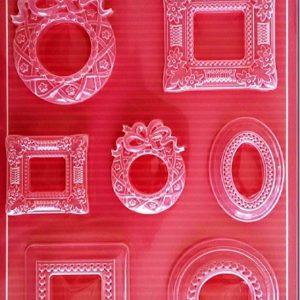 Εύκαμπτο Καλούπι για Σαπούνι-Γύψο 5002079 - 21x29.7cm - Κορνίζες