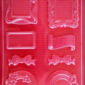 Εύκαμπτο Καλούπι για Σαπούνι-Γύψο 5002097 - 21x29.7cm - Κορνίζες