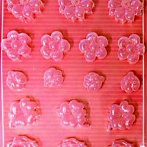 Εύκαμπτο Καλούπι για Σαπούνι-Γύψο 5002099 - 21x29.7cm - Λουλούδια