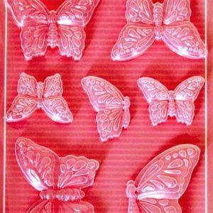 Εύκαμπτο Καλούπι για Σαπούνι-Γύψο 5002100 - 21x29.7cm - Πεταλούδες