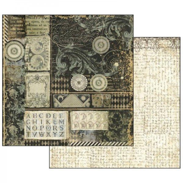 Χαρτί Scrapbooking 5002135 Stamperia Διπλής Όψης - Alchemy Alphabet - 31x30cm